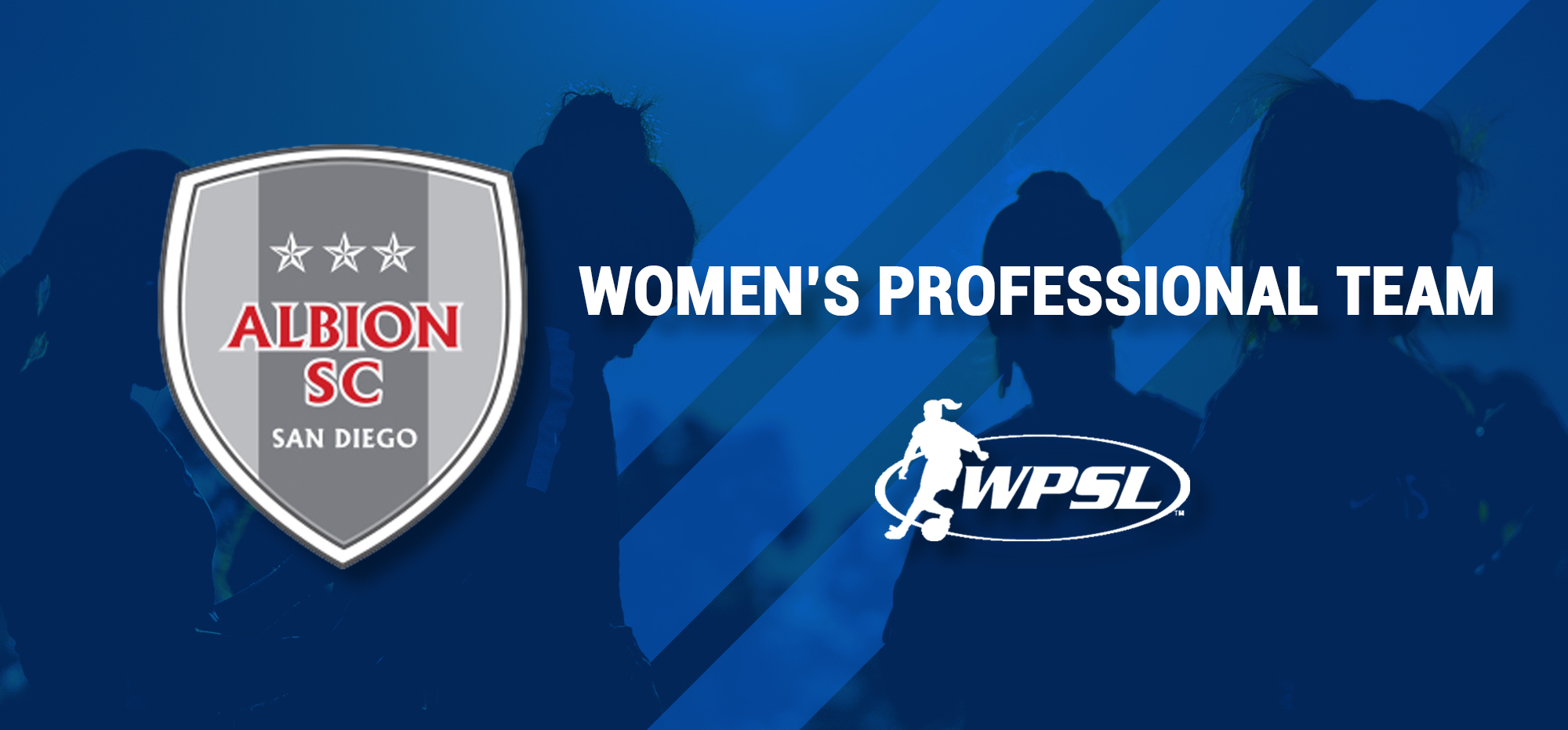 ALBION SC WILL NOW HAVE A WOMENS PROFESSIONAL TEAM TO SIT ATOP THE GIRLS US DEVELOPMENT ACADEMY.