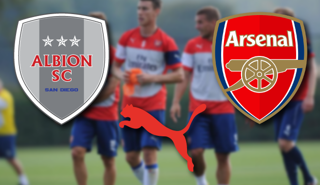 ALBION SC MOVE INTO FINAL YEAR WITH PUMA ELITE/ARSENAL WITH 3 PLAYERS SELECTED TO TRAVEL TO LONDON
